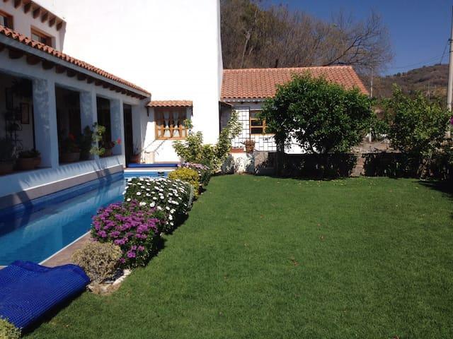 Increíble casa en Ixtapan de la Sal