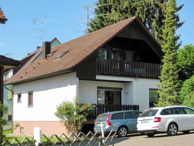 Holiday apartment with parking space, close to the city center