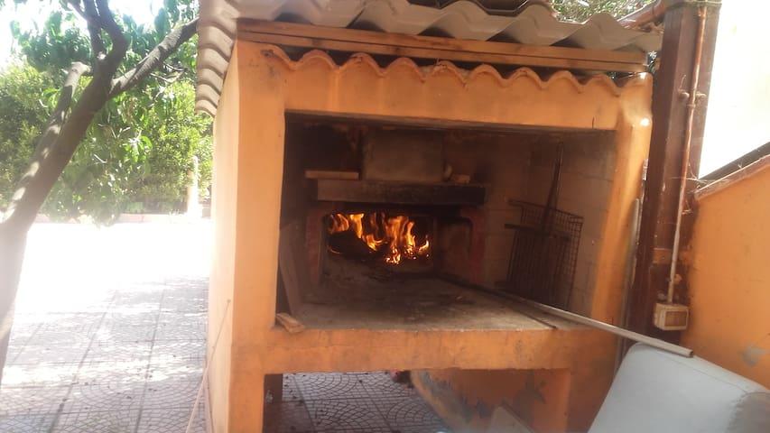 forno con barbeque