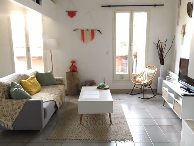 Bel appartement en centre historique avec terrasse
