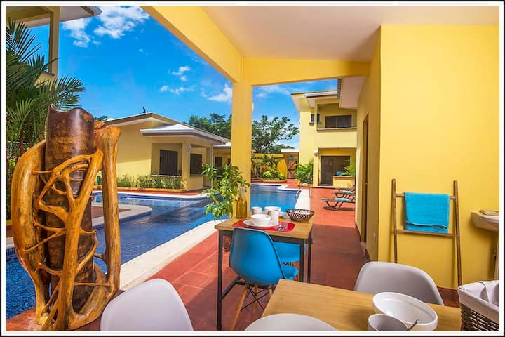 Tamarindo Garden Boutique Homes. Heliconia home 1