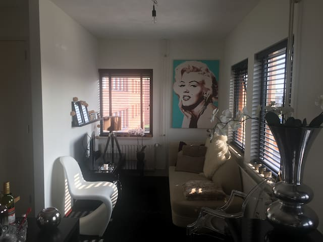 Comfortable apartment in Leeuwarden, free parking!