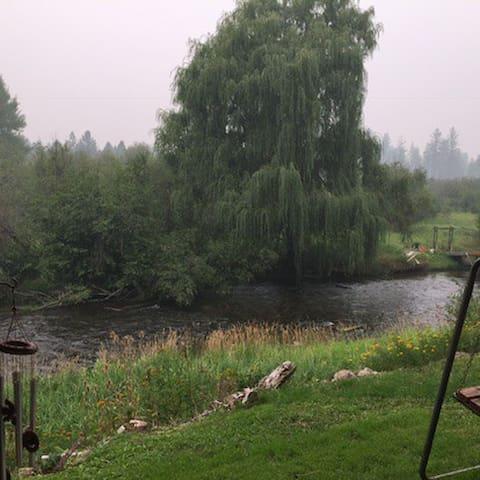 Suite on Little Spokane River