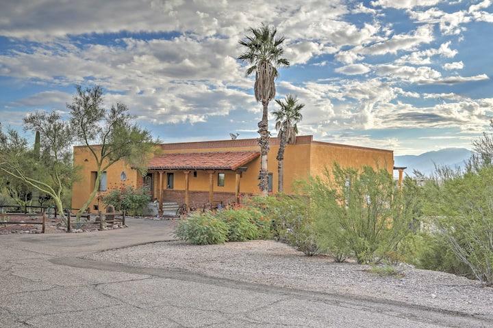 Tucson Home w/Patio + Mtn Views: 12 Mi to Downtown