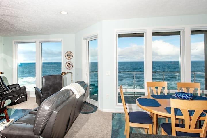 Blue Pearl - Top Floor, Corner Oceanfront Condo