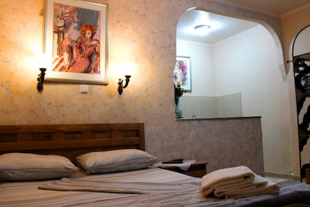 Family room 2 adults+2 kids,only 8min from the sea - Eilat