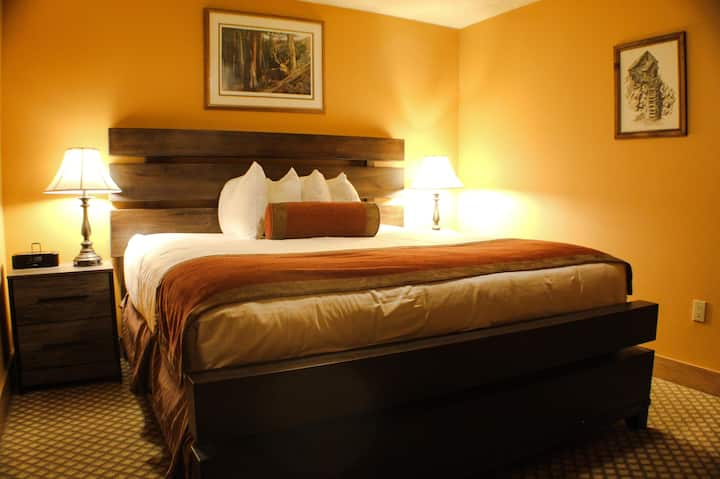 ADA Hotel Suite, Kitchenette, Great Location, Indoor/Outdoor Pool, Hot Tub!