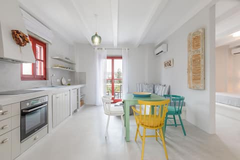 """SVOURA Marathi Mykonos"" - 1 Bedroom House"