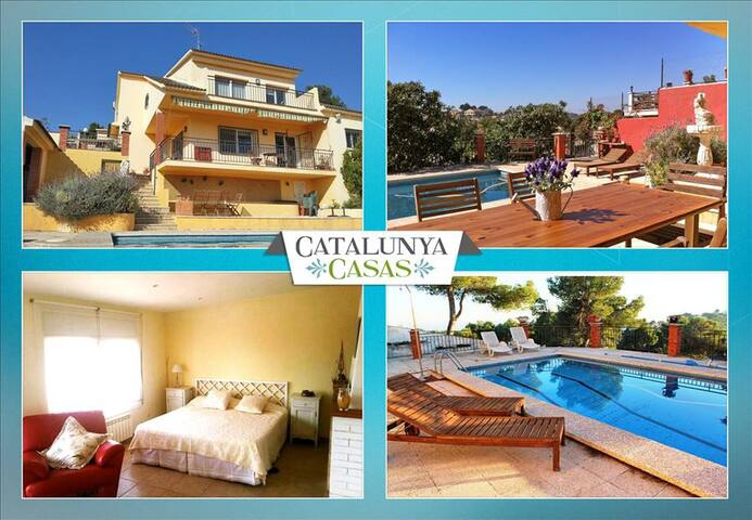 Coastal villa in Castellet, 6km from Costa Dorada beaches - Costa Dorada - Willa