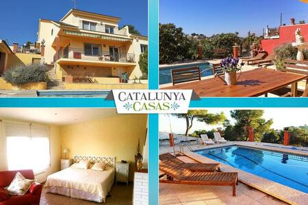 Coastal villa in Castellet, 6km from Costa Dorada beaches - Costa Dorada