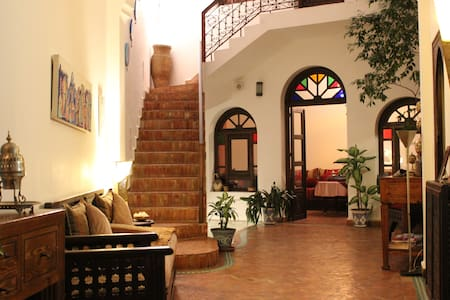 "Habitación ""Jazmín"" en Dar Manara - Asilah - Bed & Breakfast"