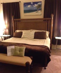 Earth toned kingbed room w/pool - Santa Rosa Beach - House