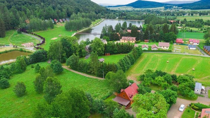 Dom Farmerski w Górach Stołowych