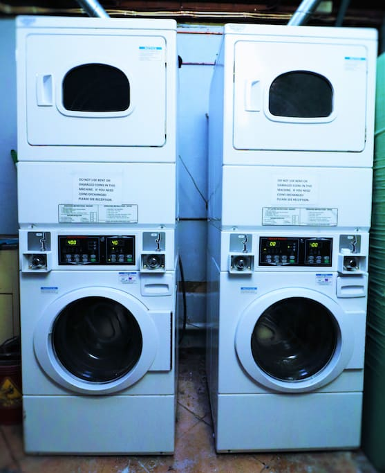 New washers and dryers