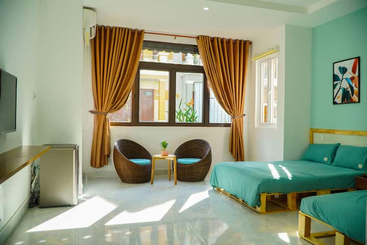 Beautiful and Bright room w/Natural light*2 bedsF4