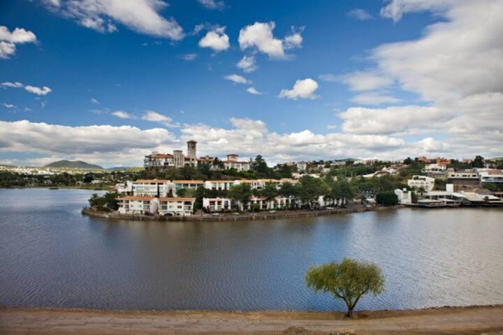 Encantador loft!  por el lago - Querétaro  - Pis