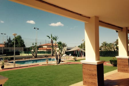 Stunning private villa with pool and tennis court. - Elche - Villa