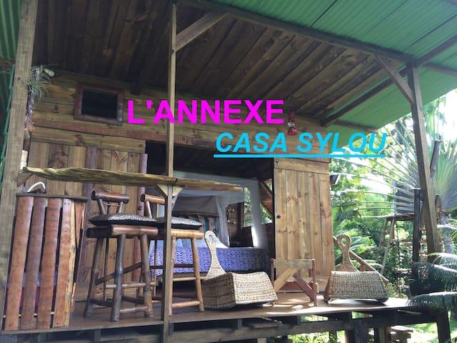 L' Annexe,  bungalow indépendant.