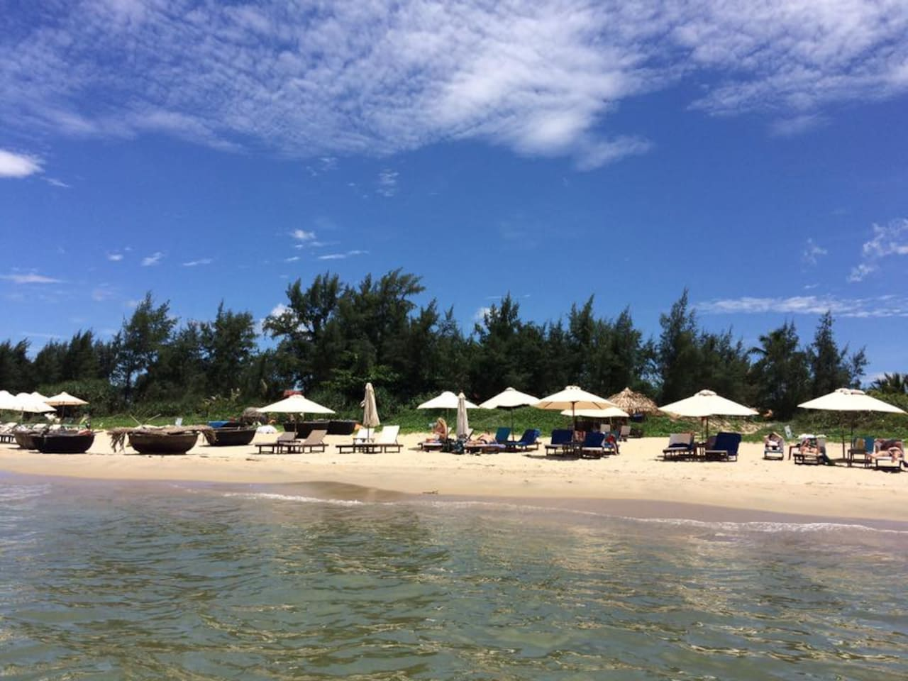 Beautiful Anbang Beach just a few steps from your villa