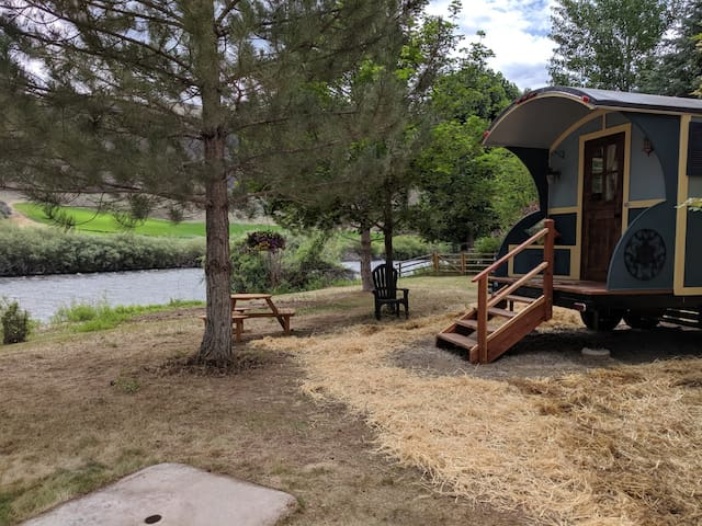 #1 Gypsy Wagon Tiny House on the Salmon River
