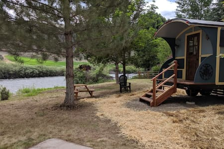 15% Off-#1 Gypsy Wagon/Tiny House on the River