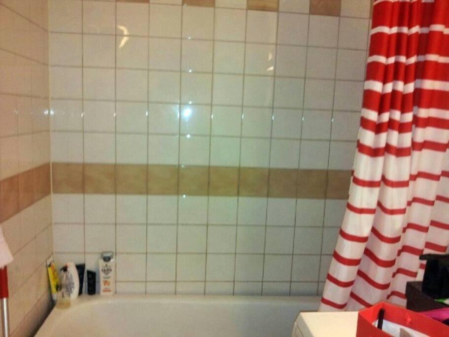 Ducha y bañadera