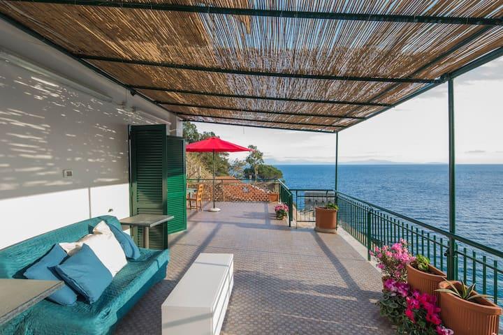 Breathtaking view apartment on the Amalfi Coast