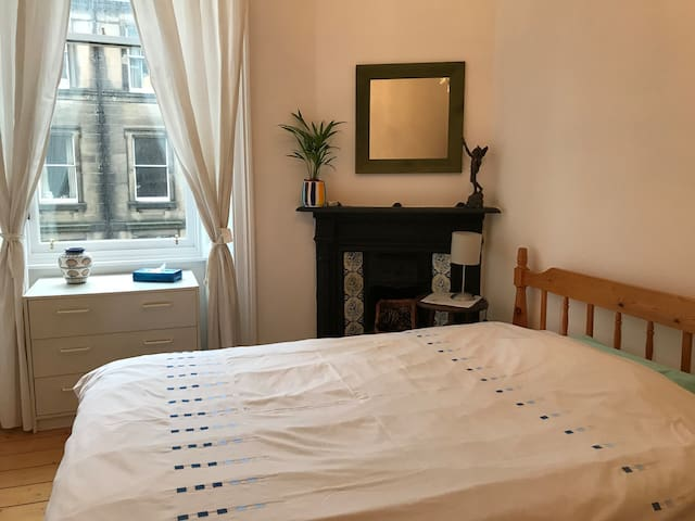 Bright friendly room in accessible area