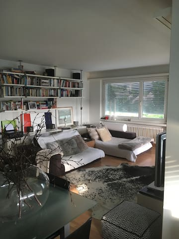 Cozy apartment 5 min from  Zurich Lake - Männedorf - Lägenhet