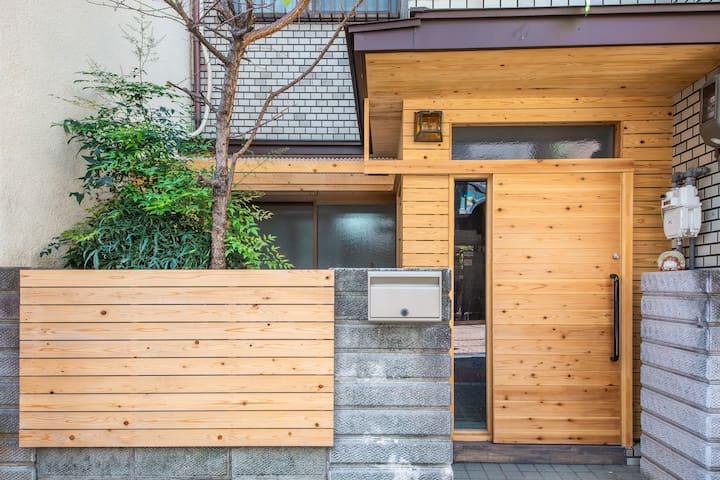 New open osaka castle design House大阪城 森ノ宮 小型别墅 地暖
