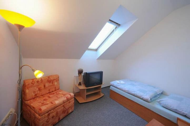Samostatný a vybavený pokoj pro 1 osobu - Pilsen - House