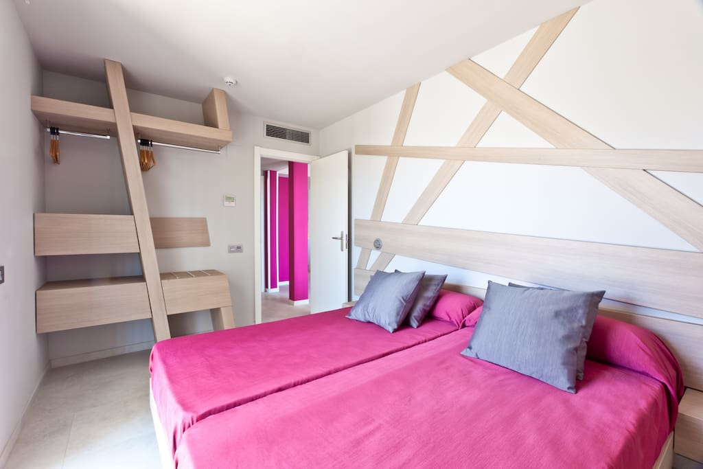 3-bedroom apt.