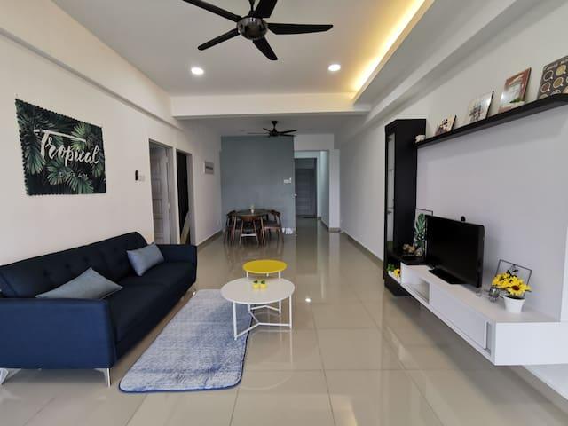 Show Homestay, Sitiawan/Manjung/Lumut, 3Room 5Bed
