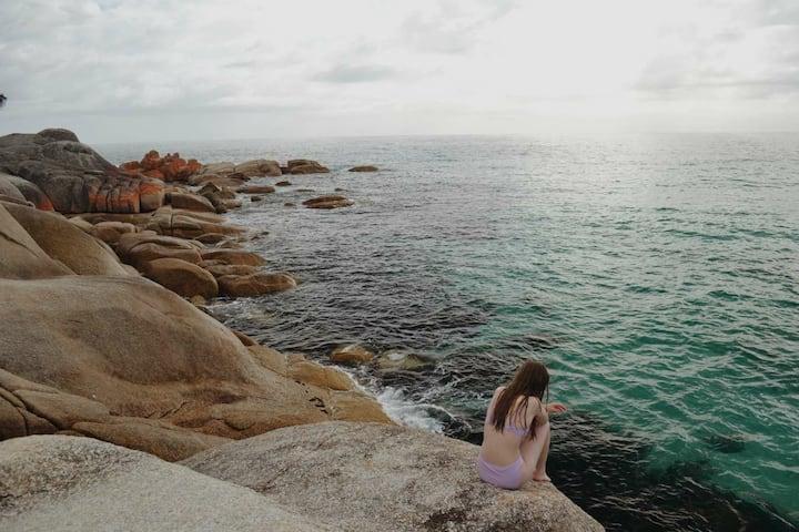 Minutes to the beach. Binalong's hidden secret.