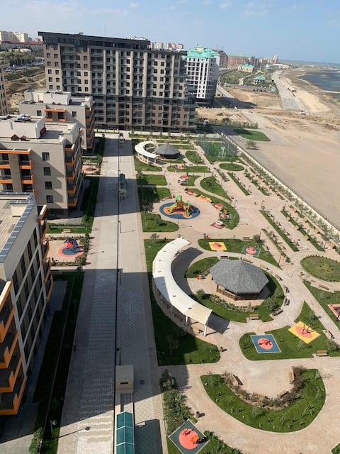 Апартаменты на море с собственным пляжем