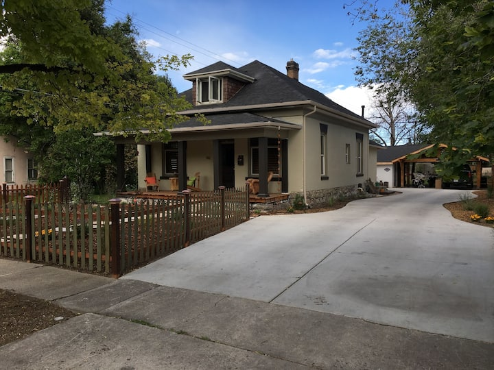 The two story home is all yours in downtown Provo!