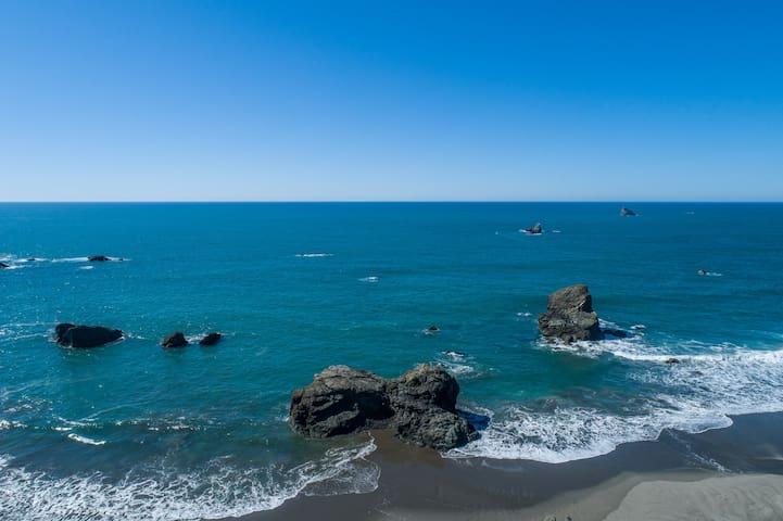Ocean Front Retreat Wild Blue 2