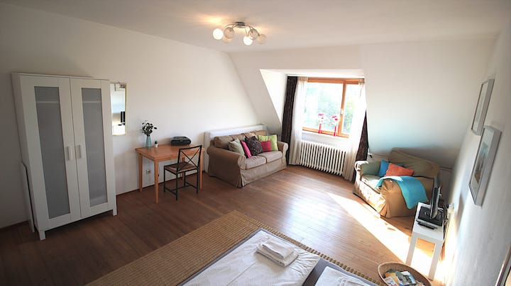 ☀ Bright & Sunny Top-Floor Flat ☀ Central Stay