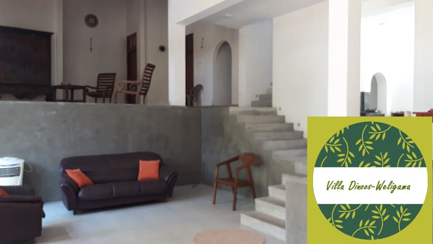 Villa Dinoos Weligama- Surf-Relax-Work from home.