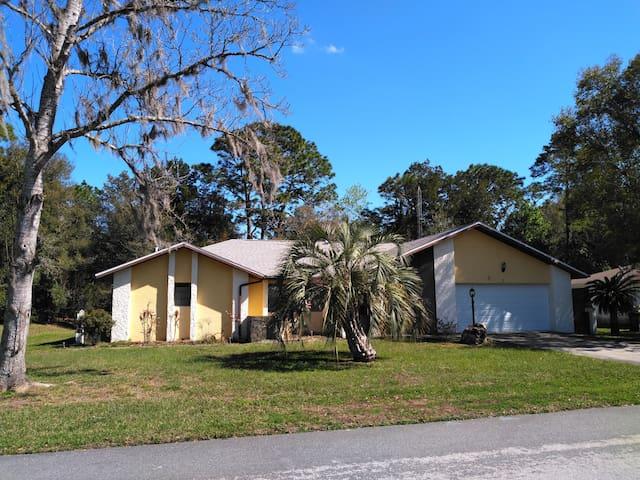 Vacation home near Homosassa River Florida