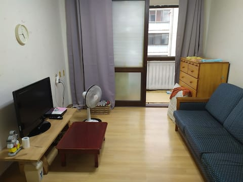 원주 구심 조용한 아파트. 침실2