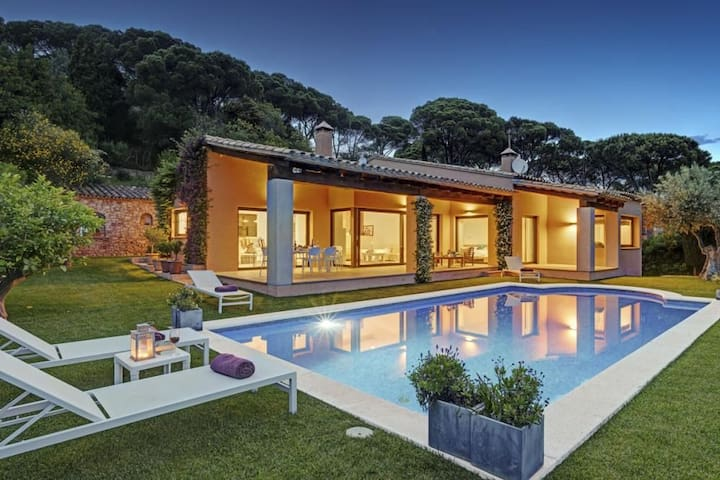 Amazing villa with private pool and seaviews