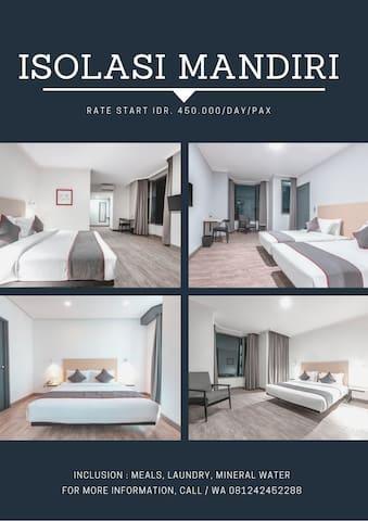 HOTEL ISOLASI MANDIRI (Khusus OTG)