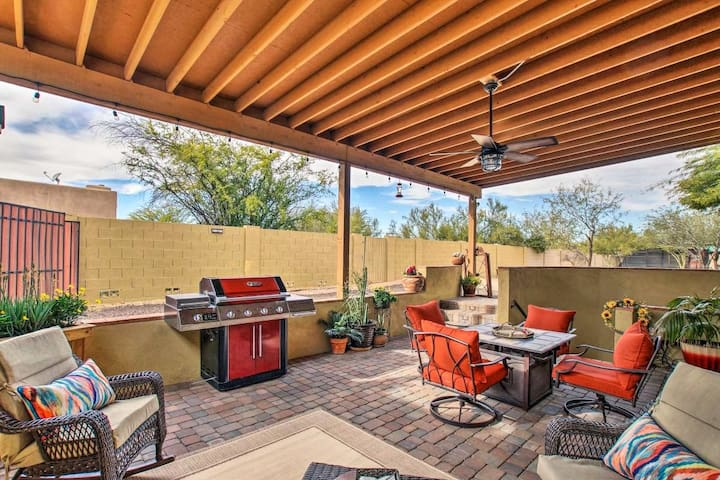 Quiet Casita,  private pool, patio, N Scottsdale