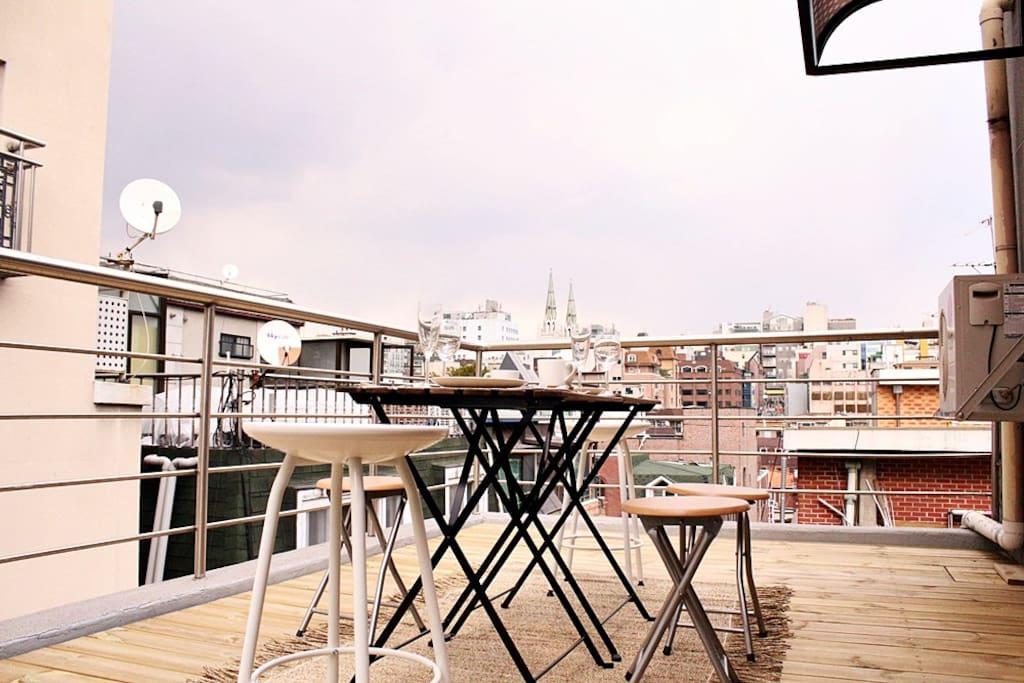 view of Gangnam.