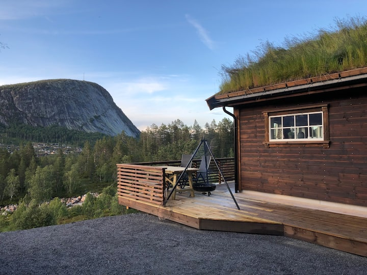 Brokke - new cabin with view