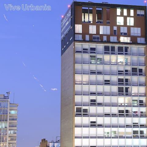 Departamento loft en edifcio Urbania.