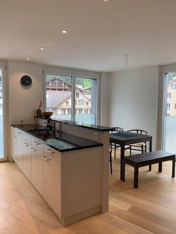 New apartment in the heart of Engelberg!
