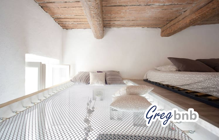 GregBnb - Flying net ! - WIFI /15min from station