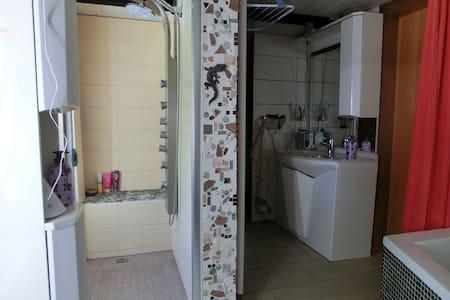 1,5 Zimmer mit Küche,und Badben. - Hatten - House - 1